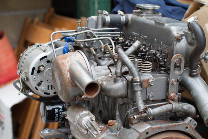le 2nd moteur avant refit