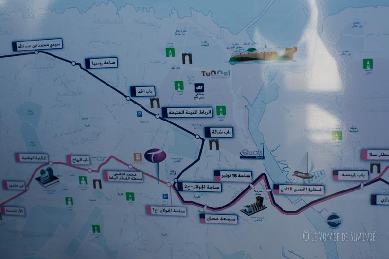 plan de tramway