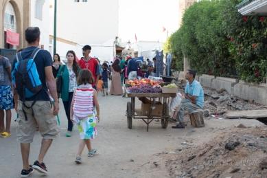 Rabat - entrée dans la Médina