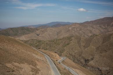 En route pour le col Tizi n'Tichka - 2260 m