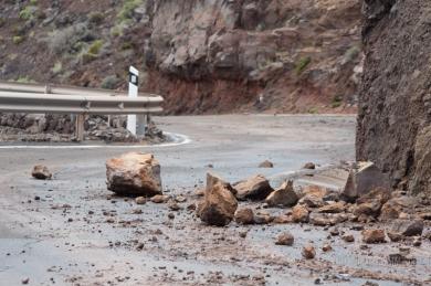 chute de pierres