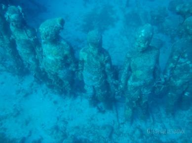 sculptures sous marines