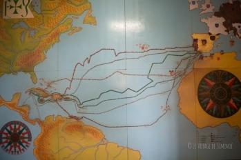 les voyages de Christophe Colomb de 1492 à 1504