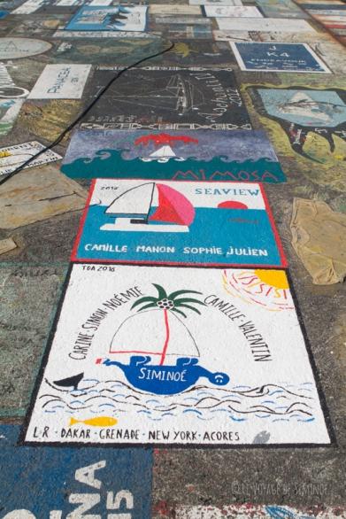 peintures ponton Horta